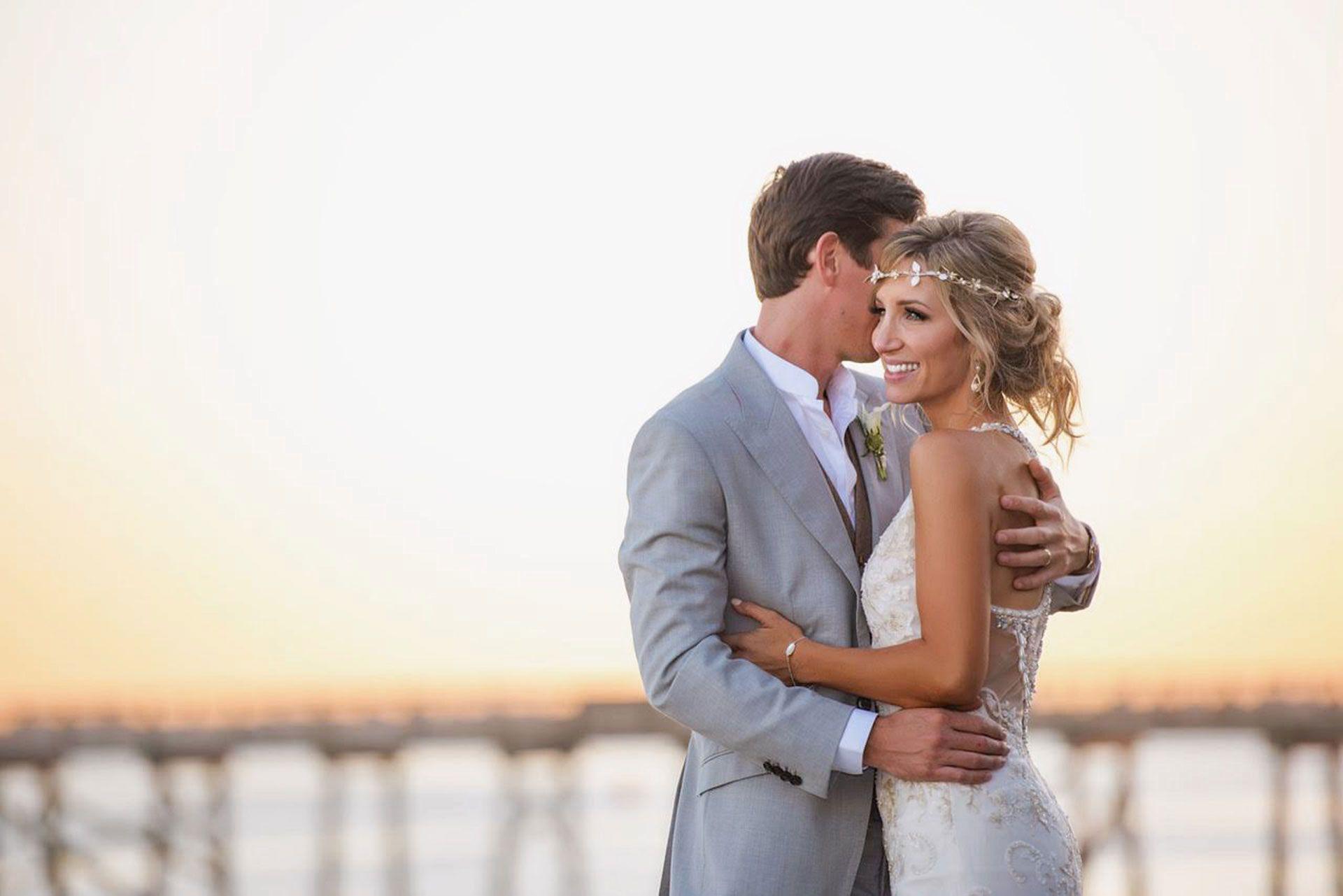 Romantic Coastal Wedding Photography