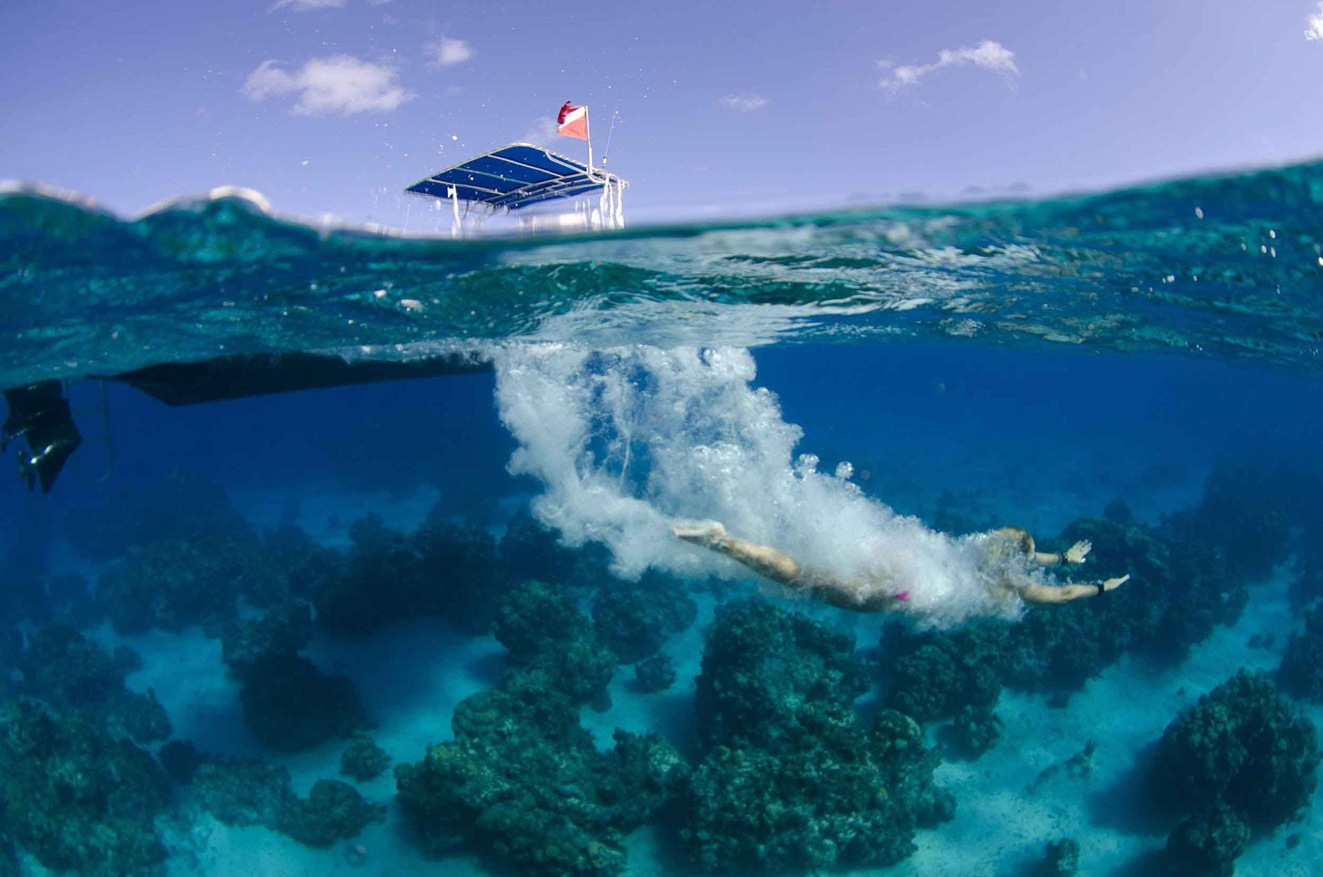 Underwater Worlds – Approaching Over Under Photography Like A Pro